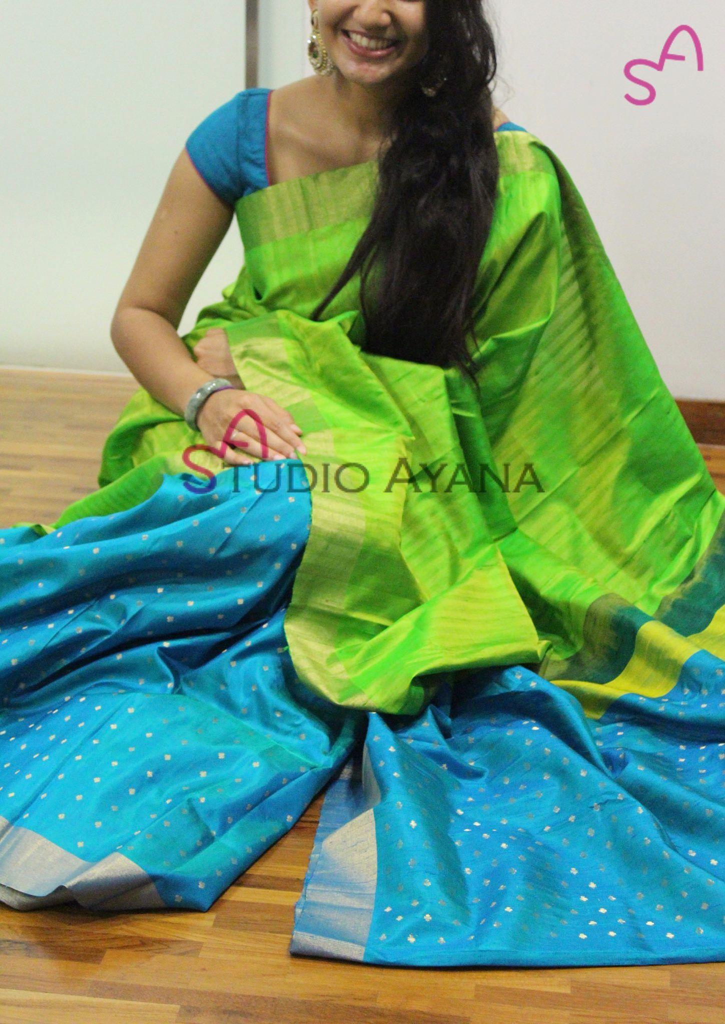 Jyothika traditional sari at shobi wedding saree blouse patterns - Studio Ayana Contact 099401 21524 04 August 2016 Simple Sarees Studioyardsindia