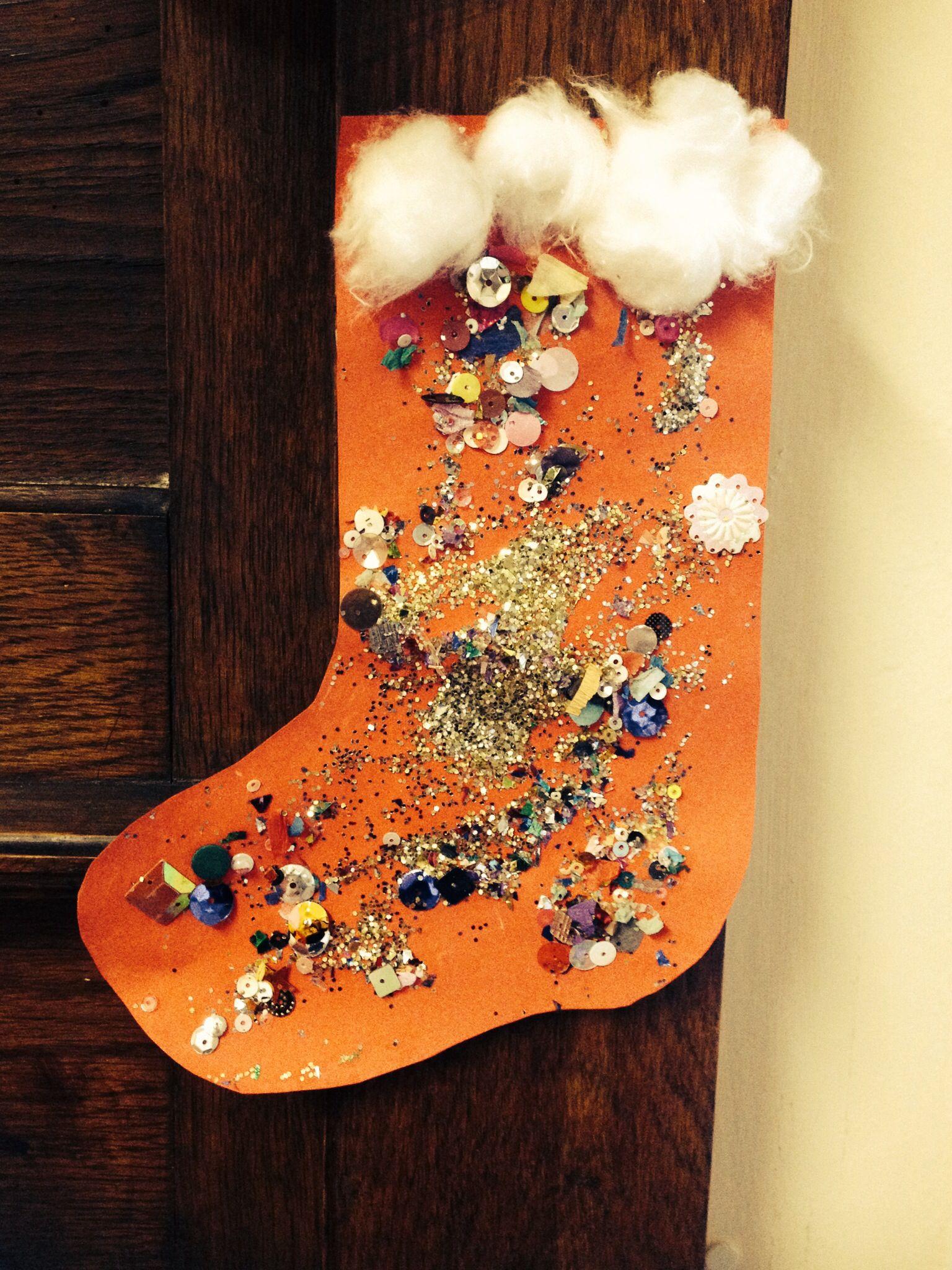 Christmas Stockings Preschool Craft V Simple Amp Effective