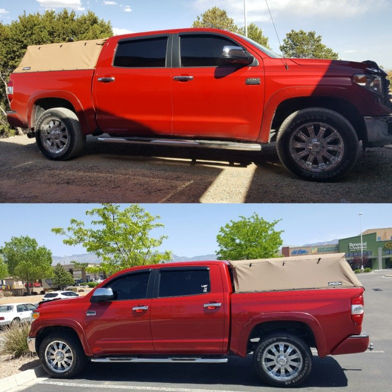 2014 Toyota Tundra 1794 Crewmax with Tan Softopper