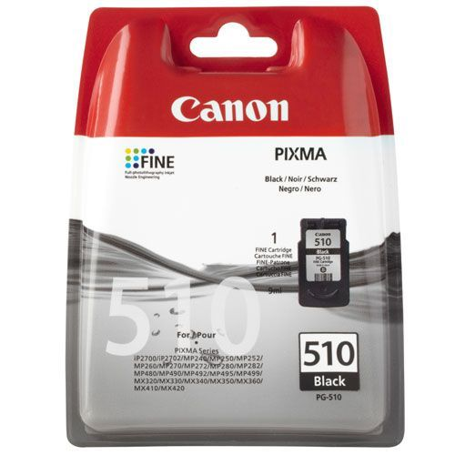 Canon Original Pg510 Black Ink 2970b001aa For Use With The