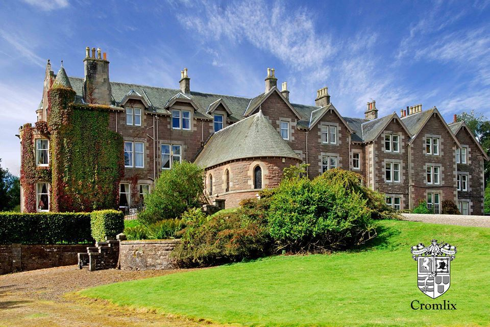 The Lovely Country House Hotel Cromlix Set In Grounds Near Dunblane Scotland Owned By Andy Tennis Murray