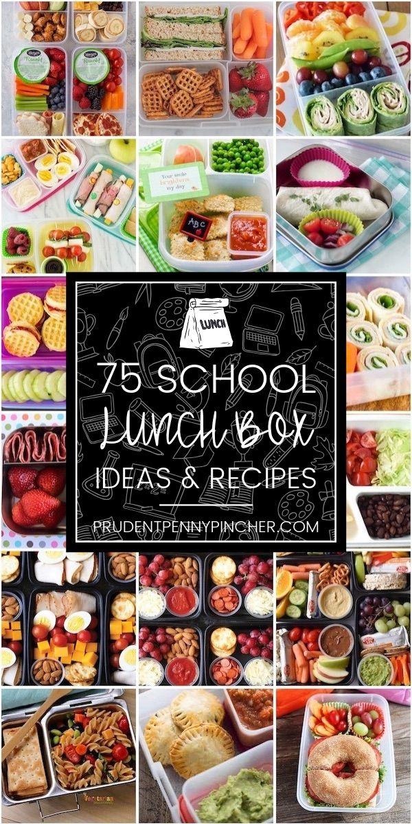 75 Back To School Lunch Box Ideas