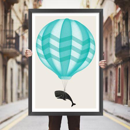 Placa decorativa balão - StickDecor | Decoração Criativa