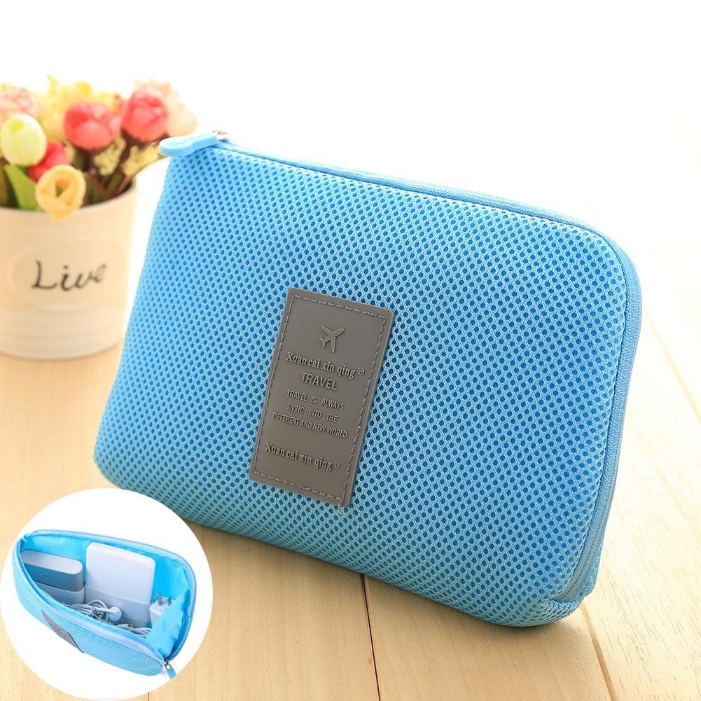 high quality Kit Case Storage Bag Digital USB Cable Earphone Pen ...