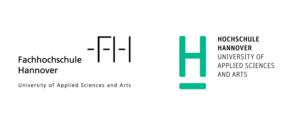 Brand New New Logo And Identity For Hochschule Hannover By Anne Andrea Identity Logo Identity Hannover