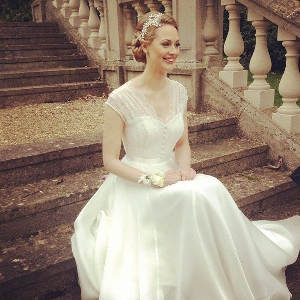 Casamento: vestidos retrô e romântico para noivas   Ideal Lembranças