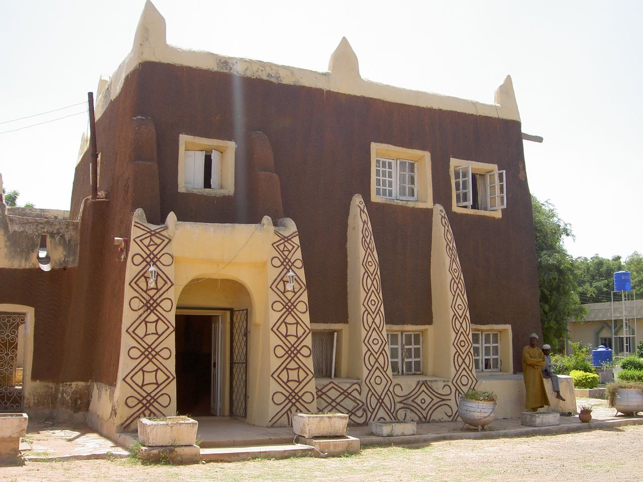 Architecture of northern nigeria wall art pinterest for Modern mud house architecture