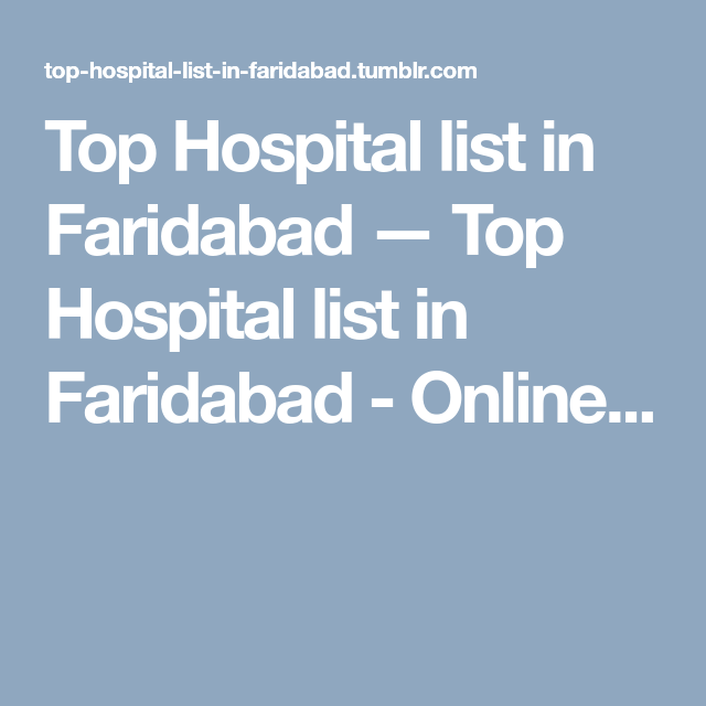 Online Appointment With Doctors Hospital List Top Hospitals