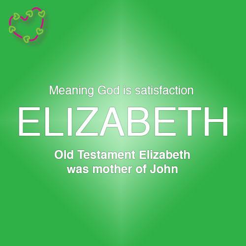Elisabeth Name Wallpaper