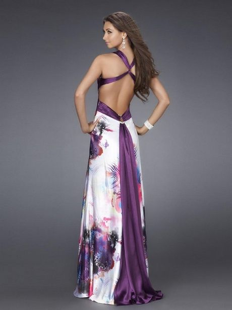 Vestidos de fiesta largos con espalda descubierta