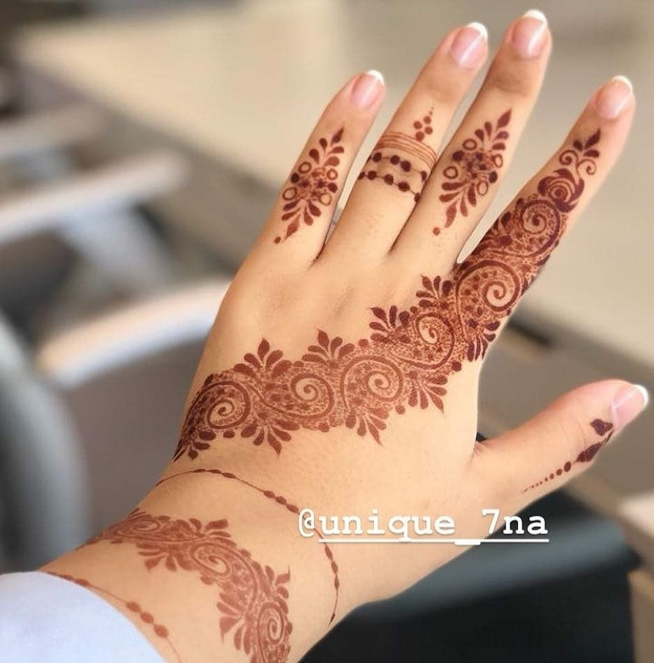 21 2k Likes 65 Comments Daily Henna Inspiration Hennainspo On Instagram Love Th Mehndi Designs For Fingers Mehndi Designs Mehndi Designs For Hands