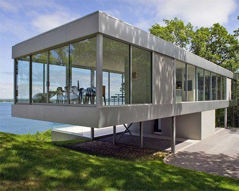 Stunning Glass Home Designs Gallery - Amazing House Decorating ...