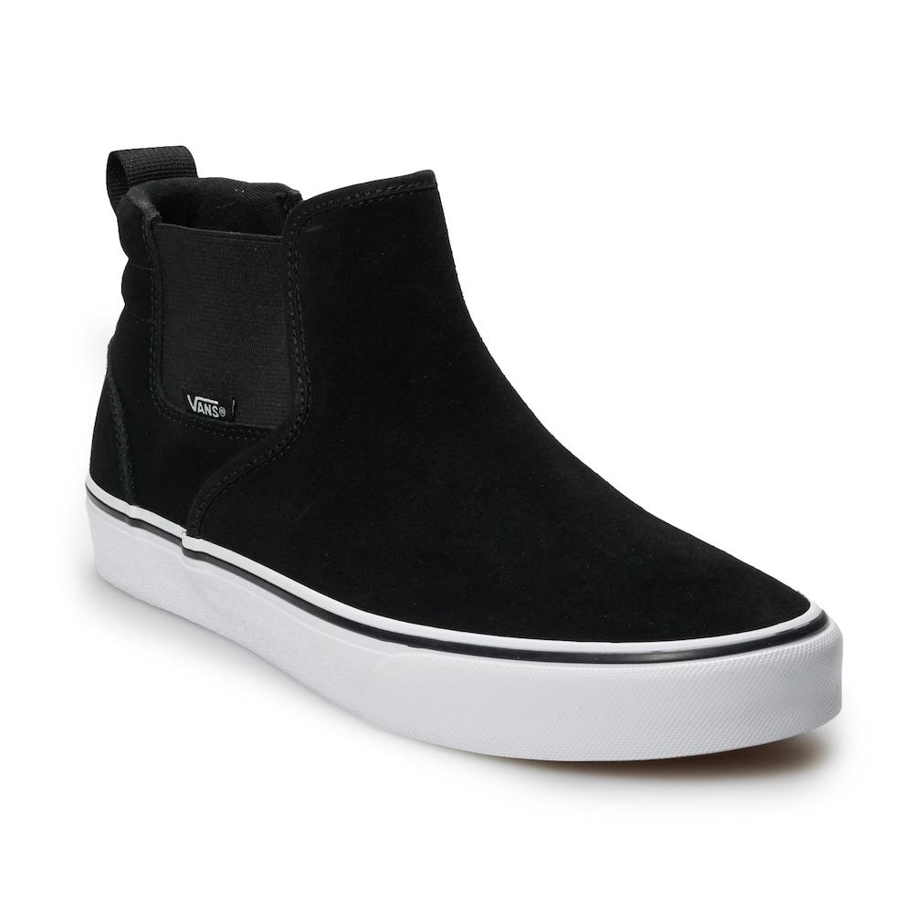 black vans size 14