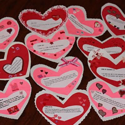 Valentines Day Countdown - Full of scriptures about love!
