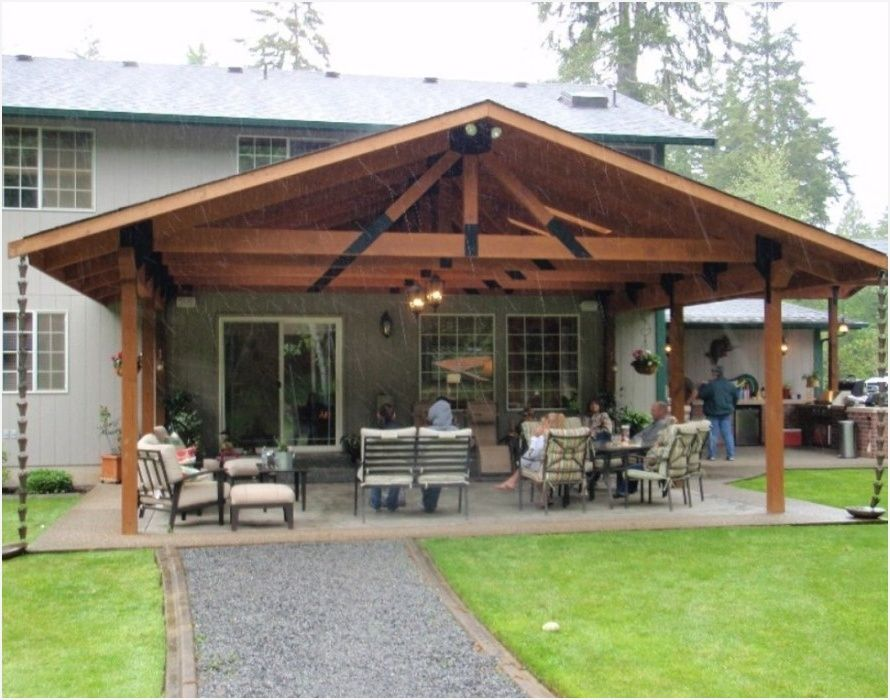 covered patio roof designs looking