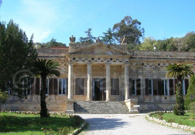 Villa San Martino, residenza estiva di Napoleone all'isola