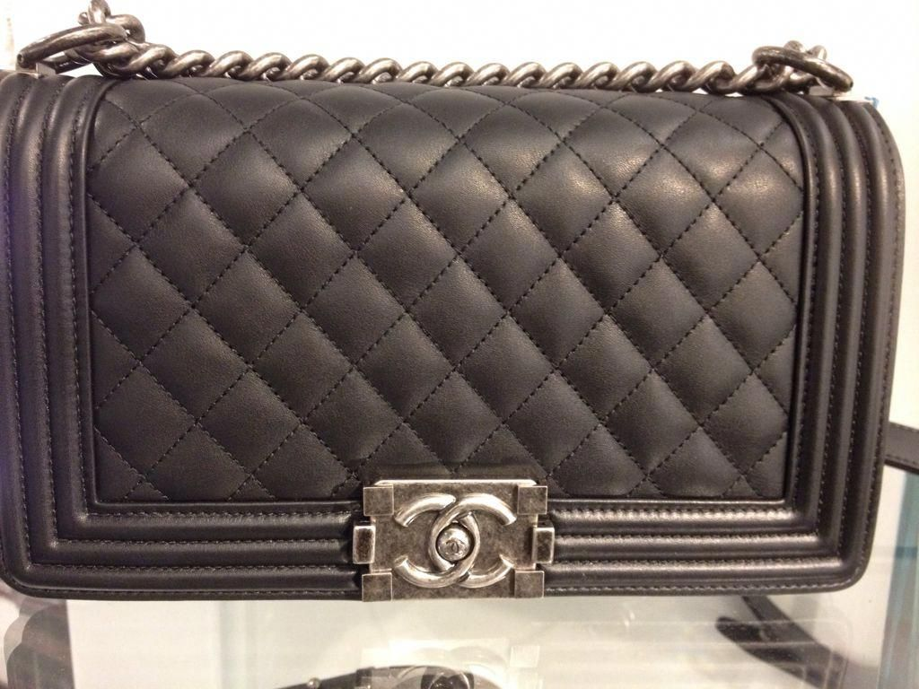 86eec8e794dd Chanel Boy Bag Price Increase starting from the Cruise 2015 ...  #Chanelhandbags