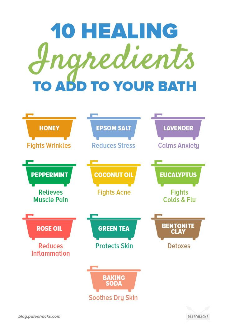 Photo of 10 Healing Ingredients to Add to Your Bath (Muscle Pain Relief + More)