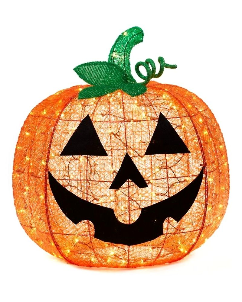 Halloween is all about the pumpkins This 36 in orange