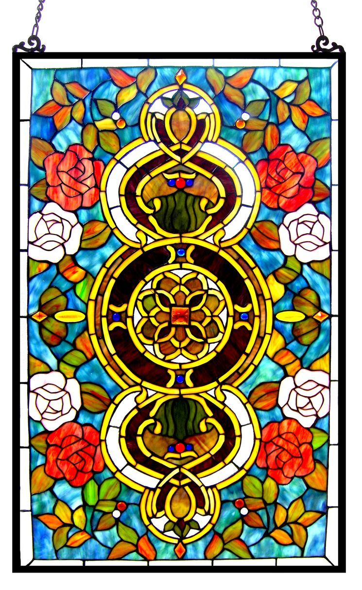 Eureka Sonara Victorian Window Panel | Stained glass | Pinterest ...