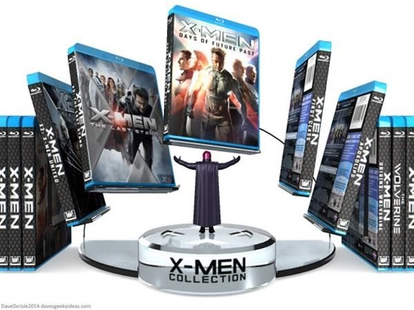 This Would Be The Perfect Display For Your X Men Blu Ray Collection X Men Blu Ray Collection Blu Ray