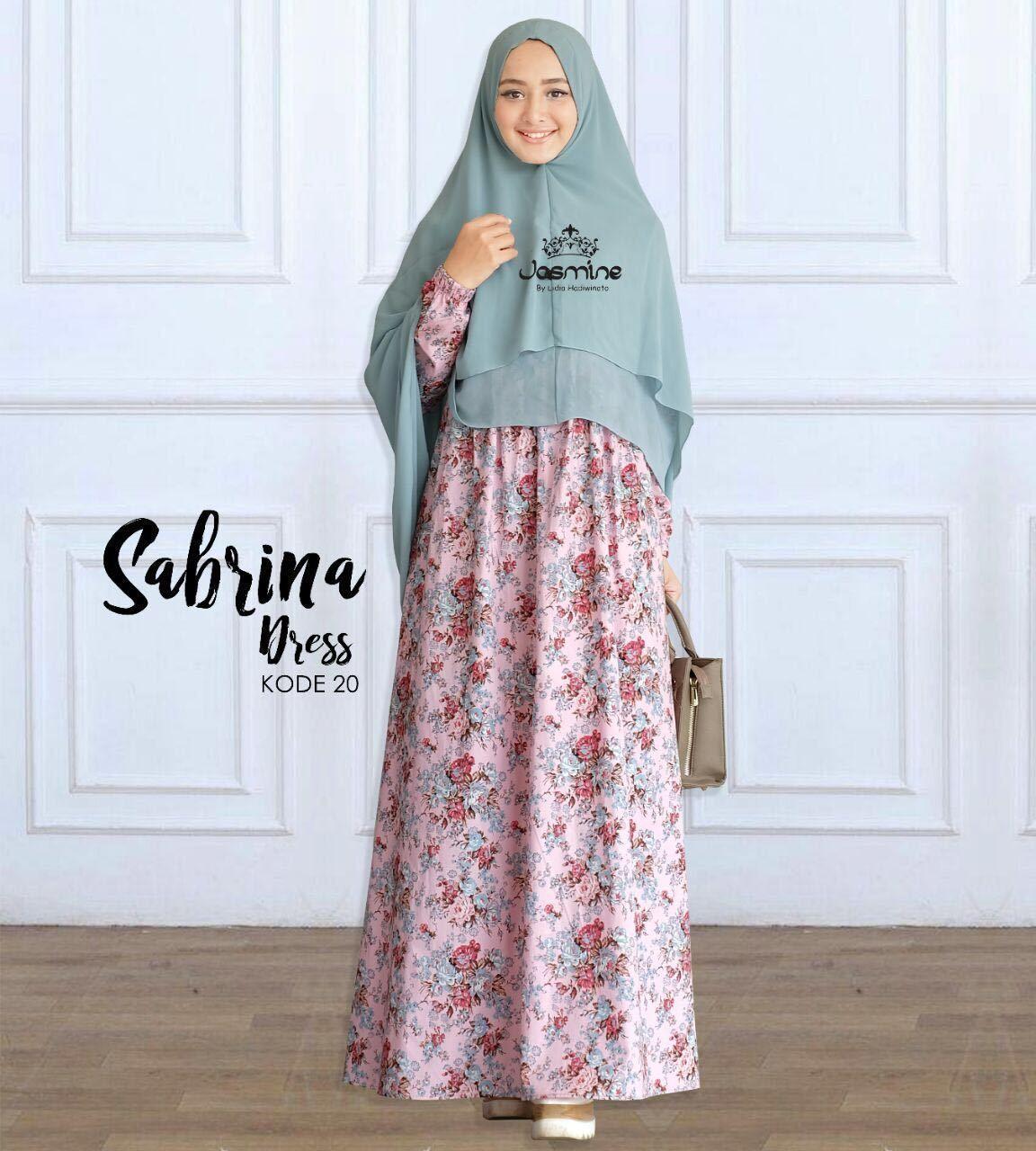 Gamis Jasmine Sabrina Dress 20 Baju Wanita Busana Muslim Cantik Katun Hitam Rok 05 Untukmu Yg Syari Dan