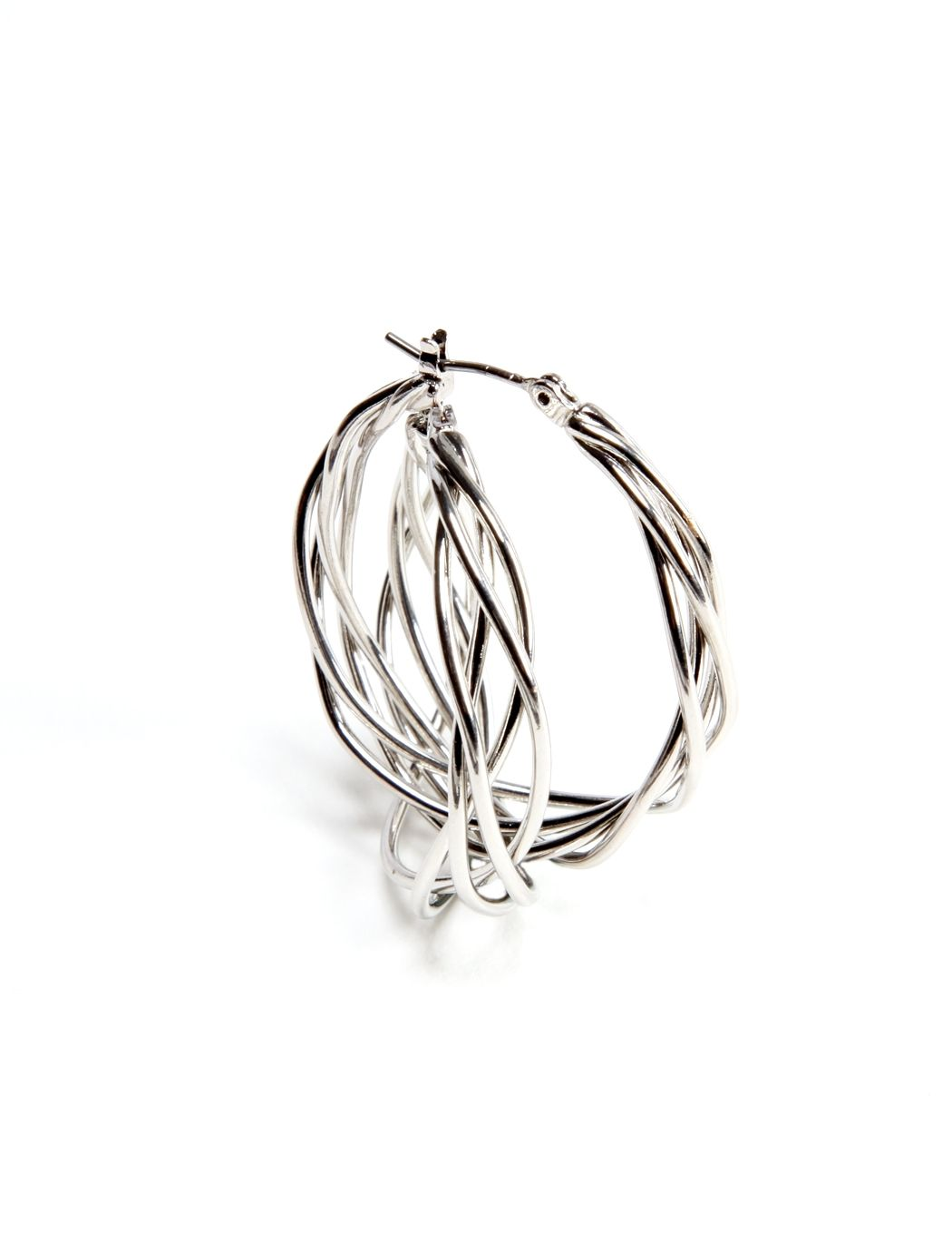 Twisted Wire Hoop Earrings | Women\'s Earrings | THE LIMITED ...