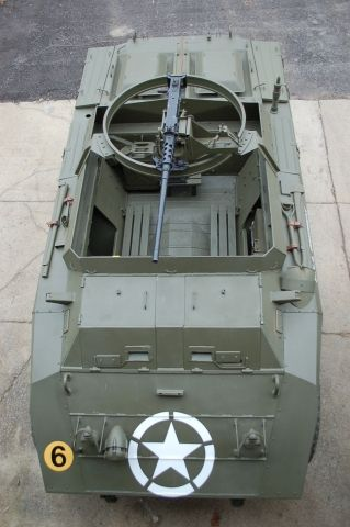 For sale:Original 1943 Ford M20 Armored Command Car WWII US