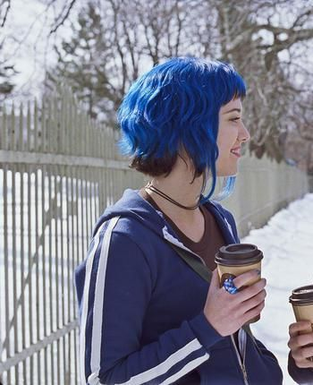 Ramona Flowers Blue Hair Ramona Flowers Hair Hair Styles