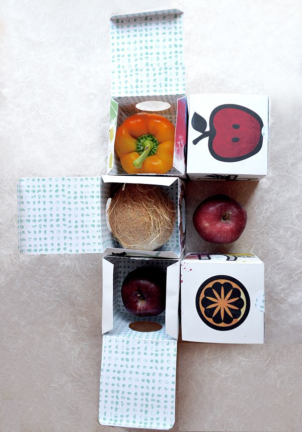 FRUVRU BOX: Fruits & Vegetables Packaging for Kids on