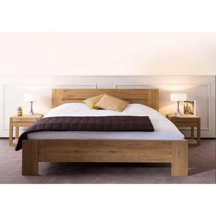 Larissa Tasmanian Oak Bedframethe Block Shop Channel 9 Timber Bed Frames Timber Beds Oak Bed Frame