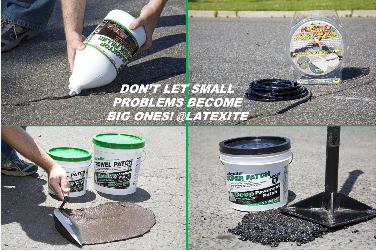 Patch Repair Your Blacktop Driveway Before It S Too Late Paving Is Expensive Driveway Repair Blacktop Driveway Driveway Sealing