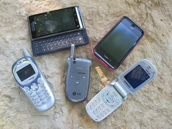 TIP 29: An oldie, but goodie. An old cell phone can be used for more than a paperweight. In an emergency, you can take it apart (MacGyver style) and use it as a:  Signal mirror Navigation tool Fire starter Even a small game snare!