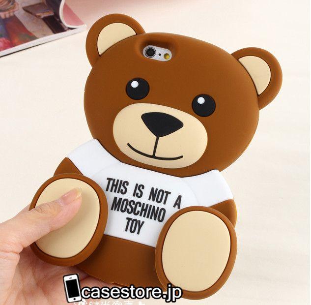 b6d8511571 ブランド アイフォン ケースiphone7ケースモスキーノキャラクター熊くまクマiPhone6 7plusシリコン製アイフォン5s