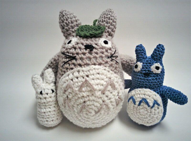 Amigurumi Totoro - Free English Pattern here: http://www.shehlagrr ...