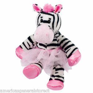 Pink Zebra Stuffed Animal Zoie Zebra Wearing A Pink Tutu Douglas