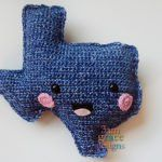 State of Texas Crochet Pattern Kawaii Cuddler® | 3amgracedesigns