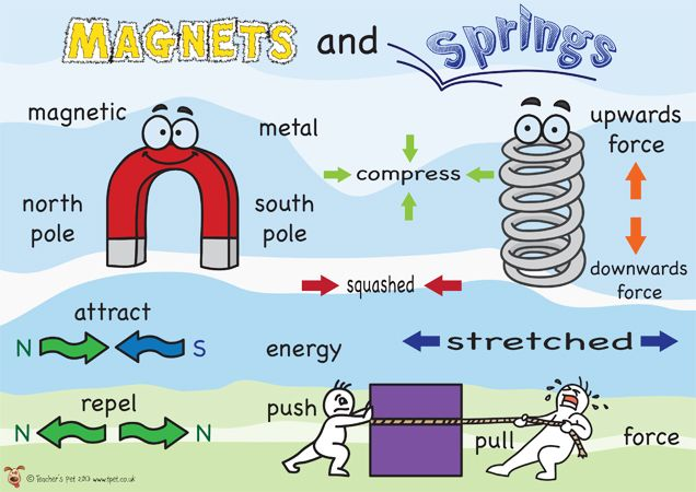 magnet word diagram for physical properties images