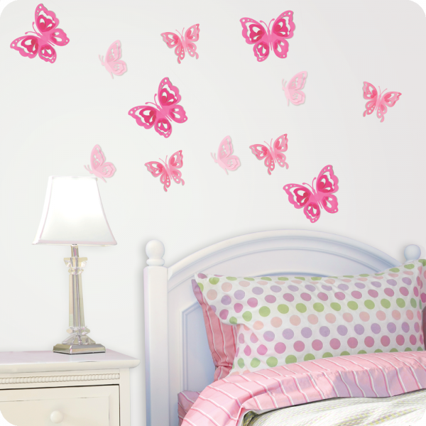 Interior Butterfly Bedroom Ideas butterfly room decor for kids6 httproom decorating ideas com kids6