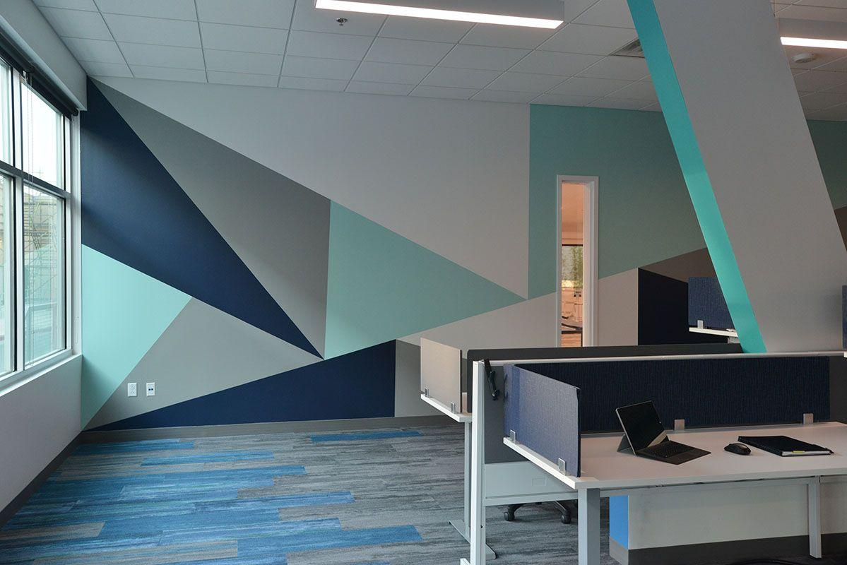 Accruent Open Office Austin Texas Office Wall Design Wall