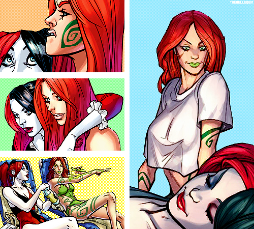 poison ivy and harley dating