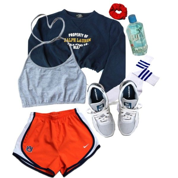 Untitled #76 by valiumbaby on Polyvore featuring Polo Ralph Lauren, NIKE and New Balance