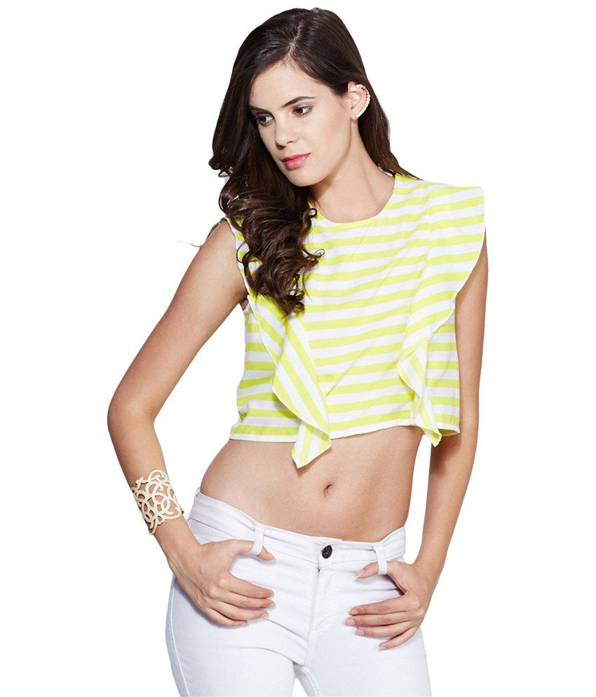 a9f8a9af44e Yepme Yellow Polyester Tops available at snapdeal for Rs.299