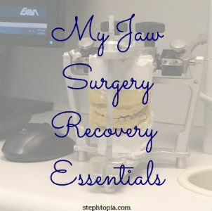Jaw Surgery Essentials #softfoodsaftersurgeryteeth