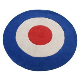 Tesco Direct Bullseye Children S Rug
