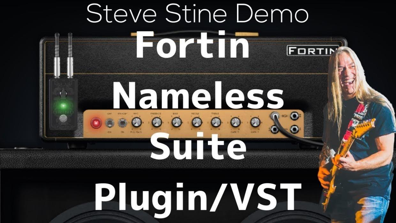 Fortin Nameless Suite Guitar Plugin Metal Tone Demo Vst Steve Stine Guitar Lesson Guitarzoom Stevestine Guitarzoom F Guitar Lessons Lesson Plugins