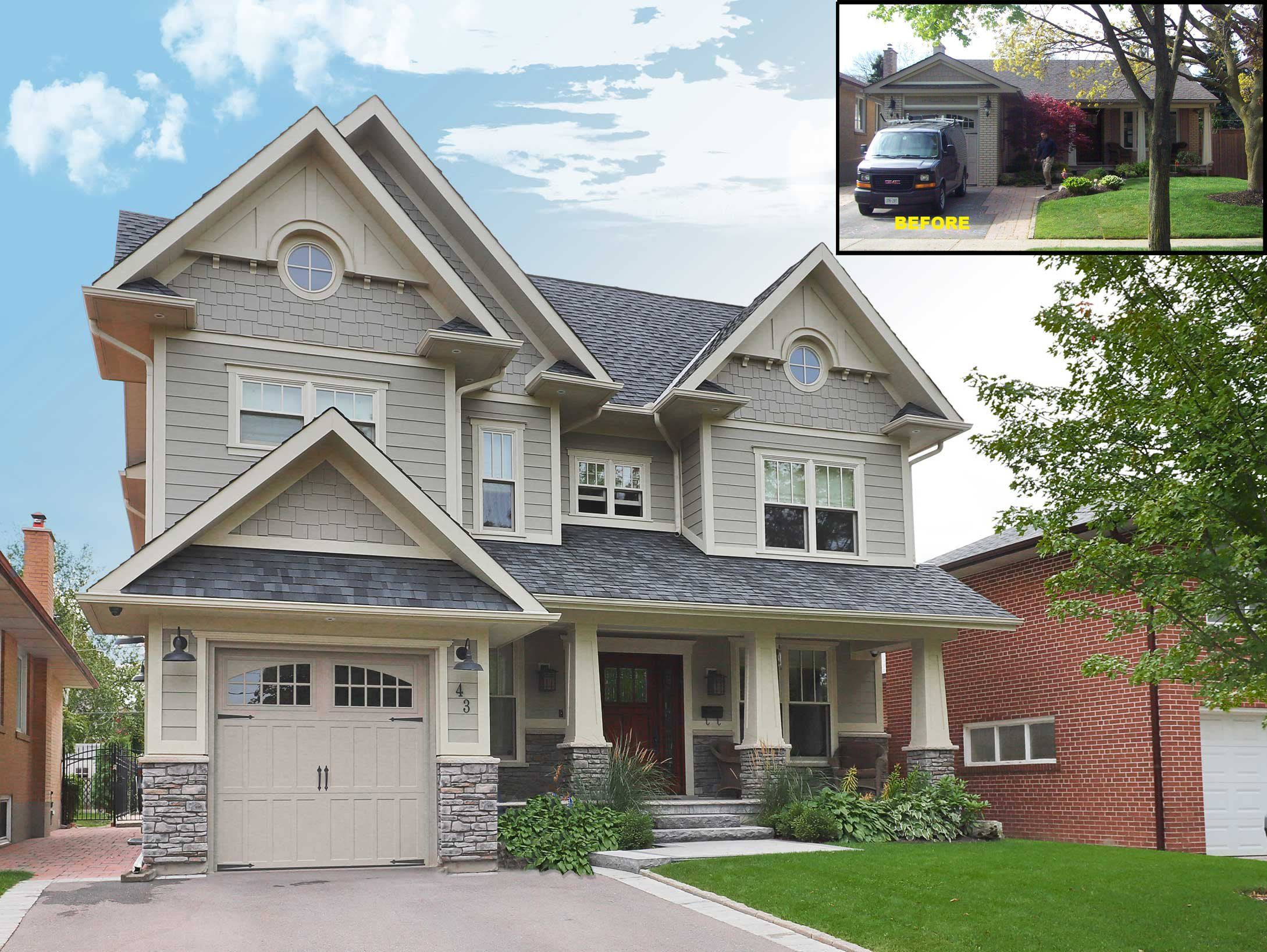 Before After Toronto Modular Home Additions In 2020 Home Additions Modular Homes Home
