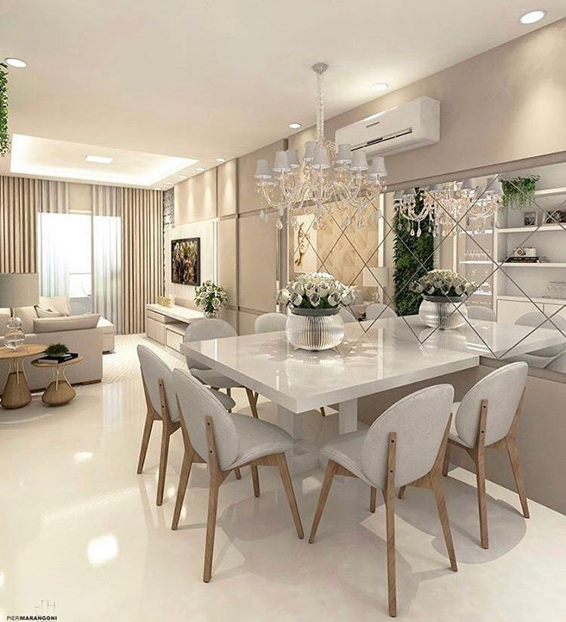 50 Lovely Living Room Design Ideas For 2020 Dining Room