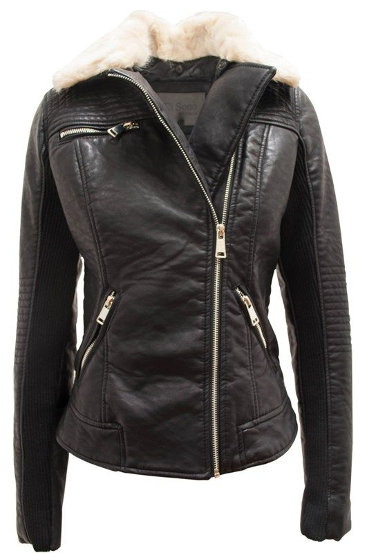 6ecb4598d CAVALINI VEGAN LEATHER MOTO JACKET WAS $99.99 NOW $45.00 | SALE ...