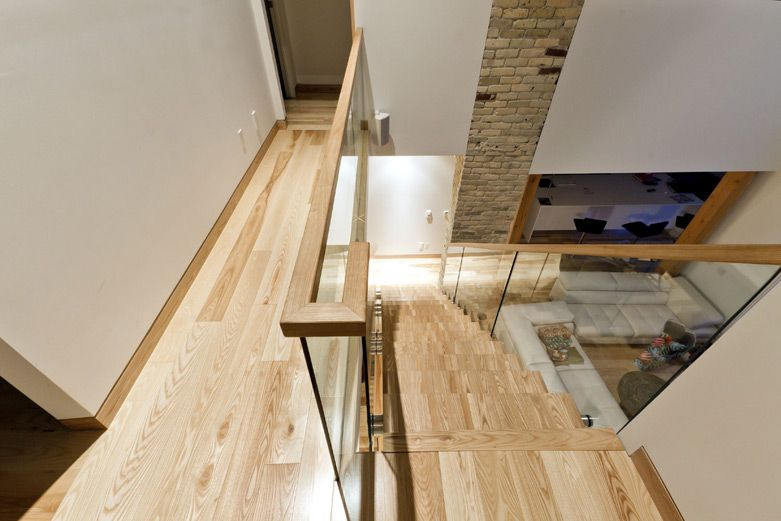 Best Ash Staircase Handrail Wood Staircase House Staircase 400 x 300